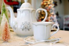 Christmas Tea Party and DIY Party Favors