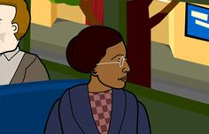Rosa Parks background information and activities.  Video also available from brainpopjr.com