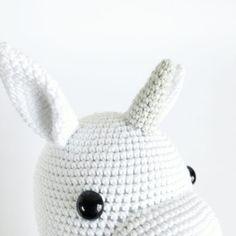 ELIE ENHJØRNING – Unkeldesign Crochet Hats, Macrame, Beginner Crochet, Free Pattern, Blue Prints, Creative, Knitting Hats
