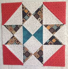 Star block   Flickr - Photo Sharing! Gypsy Wife Quilt in process