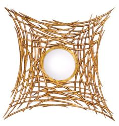 Bird's Nest mirror by Alinea, which will be showing its new handcrafted collection in a new High Point location next month.