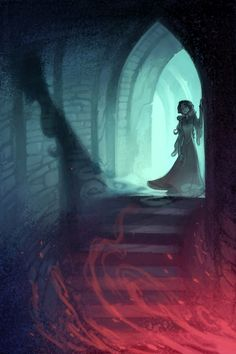 The Curse Of Maleficent (Interiors) by Nicholas Kole, via Behance