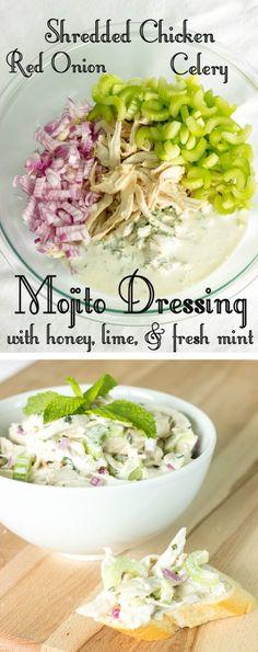 Mojito Chicken Salad