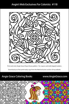Angie Graces Free Coloring Pages To Download