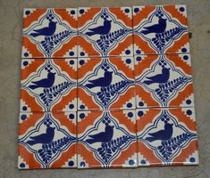 ✔ About 25 pieces of tiles Special for ~ ~ ~ ~ ~ ~ ~ ~ ~ ~ ~ ~ ~ ~ ~ ~ ~ ~ ~ ~ ~ ~ ~ ~ ~ Add a special touch to any area or project with these unique beautiful Mexican tiles . * Size: 4x4 inches - You will receive a box of 25 tiles handmade Mexican Talavera (4x4 inches) - You can have all of the same design or you can choose any of the designs of the tiles shown in this store for a box (25 tiles ) . These are all individually wrapped in bubble wrap in hand.  [For tiles of the same size]…