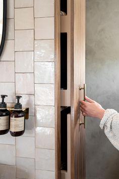 Bathroom Plans, Humble Abode, Bathroom Interior Design, Bathroom Medicine Cabinet, Room Inspiration, Interior Architecture, Brown And Grey, Toilet, Sconces