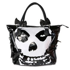 Misfits handbag. Jerry is becoming as much of a marketing whore as Gene Simmons