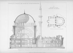Nuruosmaniye Mosque (1749-1755 CE) Istanbul