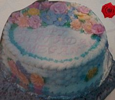 Basket cake | one of my first cakes