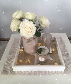 Light & flower Home decoration