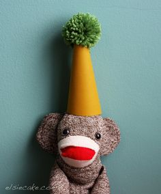 Make your own sock monkey! This is also such a cute blog!