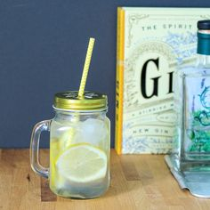 vintage glass drink dispensers, mason drinking jars, berylune
