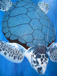 Sea Turtle Painting by ~Gcrackle1 on deviantART