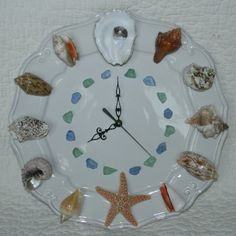 Seashell clock