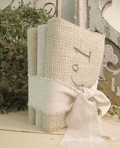 flickerwhips: Say Cheese!~Dollar Store Fix Up ~~Fix up dollar store photo albums with burlap and scrap paper