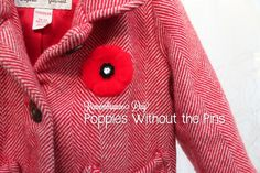 Poppies Without the Pins--awesome for kids old enough not to put stuff in their mouths!
