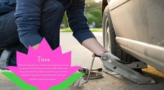 Tire Pressure   Have you ever noticed your car's tire pressure light sometimes comes on during the winter? Or maybe you've noticed that your car just isn't getting the same gas mileage as it used to? Under-inflated tires can lower your gas mileage and are typically more prone to damage (flats, blow-outs, etc.). Check your tire pressure to make sure the cold weather hasn't deflated them.  #wintertyres