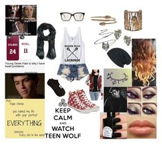 """Teen Wolf"" by t-is-for-taco ❤ liked on Polyvore featuring Urban Eclectics, Beacon, MANGO, Ugo Cacciatori, Topman, Alkemie, Andy Wolf, Converse, Quiksilver and OBEY Clothing"
