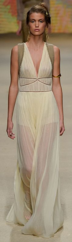 View all the catwalk photos of the Alberta Ferretti spring / summer 2016 showing at Milan fashion week. Grecian Dress, Sheer Dress, Fashion Week, Fashion Show, Milan Fashion, Runway Fashion, Spring Fashion, High Fashion, Sheer Clothing