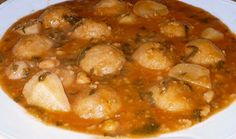 Iraqi food,  kobah in a soup  كبة حامض العراقية