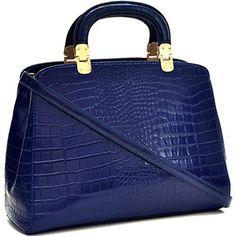 Dasein Faux Croco Leather Hinge Handle Laptop, Tablet, iPad Bag Satchel Briefcase Shoulder Handbag Purse with Removable Shoulder Strap - Royal Blue Dasein Briefcases http://www.amazon.com/dp/B00Q3Q5YBA/ref=cm_sw_r_pi_dp_xlaOwb0E7XH75