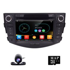 2 Din Car GPS Navigation Car Stereo for Toyota RAV4 2006-2012 Bluetooth SWC USB SD ATV Touch Screen Free Map Sale-Seller