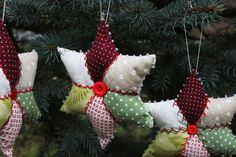 Made by Ale Balanzario: Christmas Stars! Christmas Patchwork, Christmas Sewing, Noel Christmas, All Things Christmas, Handmade Christmas, Christmas Tree Decorations, Christmas Tree Ornaments, Star Ornament, Christmas Projects