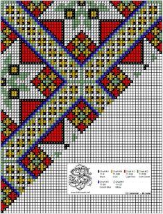 Cross Stitch Charts, Cross Stitch Patterns, Beading Patterns, Seed Beads, Loom, Needlework, Embroidery, Crochet, Crafts