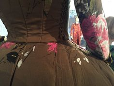 """And it was almost a couch instead of a dress. 