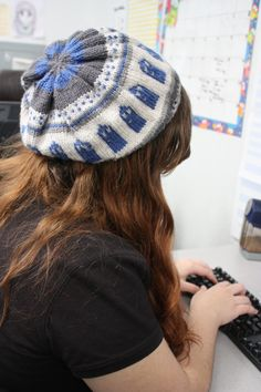I like this beanie! It looks awesome. @Molly Hooper, where do you find all of these cool things?