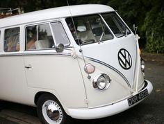 Wedding VW Campervan