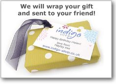 Let us gift wrap your gifts!