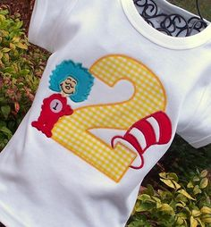 Dr. Seuss Birthday Shirt