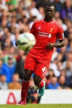 27a5de3a3 Mario Balotelli - Tottenham v Liverpool 31st August 2014  THFC  LFC  EPL  Ynwa