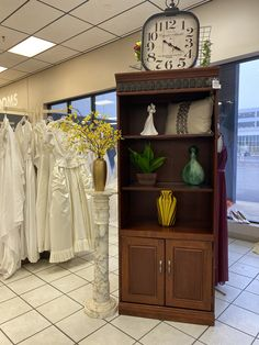 From wedding dresses and bookshelves to glassware and home decor... all spotted at Goodwill San Antonio. You never know what you'll find! #GoodFinds Bookshelves, Bookcase, Goodwill Finds, San Antonio, Thrifting, Wedding Dresses, Home Decor, Bride Dresses, Bookcases