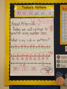 A day in first grade: More Math!