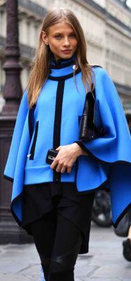 Marc Jacobs Blue cape <3