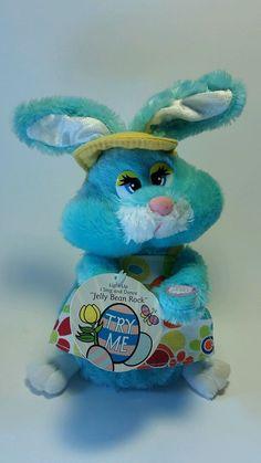 Dan Dee Easter Bunny Plays Jelly Bean Rock Hat Apron  | Toys & Hobbies, Stuffed Animals, Dan Dee | eBay!