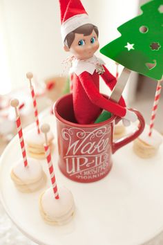 INSTANT DOWNLOAD Elf on the Shelf North Pole Breakfast Printable collection