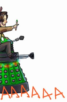 cocokat:  aaaand everybody had a good christmas except the dalek