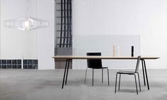 Paper table and chairs