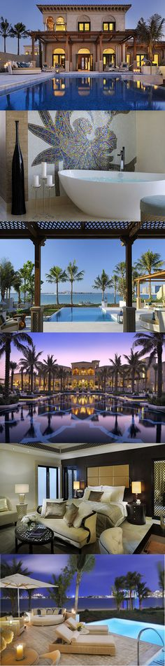 One & Only The Palm wins Gulf Connoisseur's best Luxury hotel in UAE awards designed by Creative Kingdom inc. Vacation Destinations, Dream Vacations, Vacation Spots, Beautiful Hotels, Beautiful Places To Visit, Hotels And Resorts, Best Hotels, Luxury Hotels, Villas