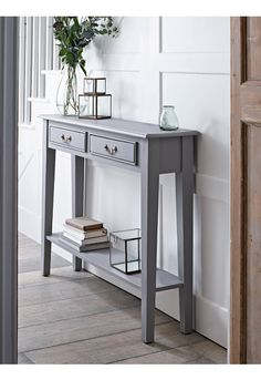 NEW Grey Console Table - NEW THIS SEASON - Furniture