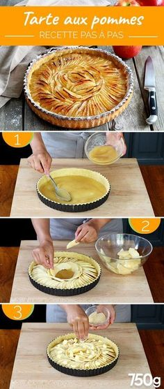 Healthy smoothie recipes 782993085192585847 - Tarte aux pommes Source by decorusrenovati Easy Smoothie Recipes, Apple Desserts, Coconut Recipes, Quiches, Sweet Cakes, Sweet Tooth, Food And Drink, Cooking Recipes, Yummy Food