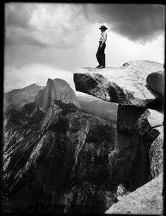 Ansel Adams.  Half Dome,   Yosemite