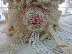 Crochet pin cushion box by Msgardengrove1