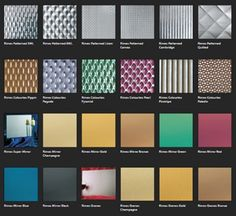 Proteus stainless steel façade in any colour or finish. What's not to like?