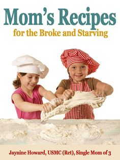 $3.00 This is an ebook of recipes I used to feed my family of four when money was tight. My my son moved out on his own and needed to learn to cook he asked me for recipes, shopping tips etc. This book has been a hit with parents who bought it as a gift for college graduates and adult children living on their own for the first time. #recipes #budget #mom