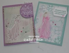 Stampin' Pals #rachelpalmieri #stampinupdemo #handmadecards #Angelsofpeace #christmascards Good People, Stampin Up, Singing, Angel, Cover, Holiday, Projects, Cards, Design