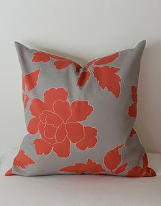 coral and gray